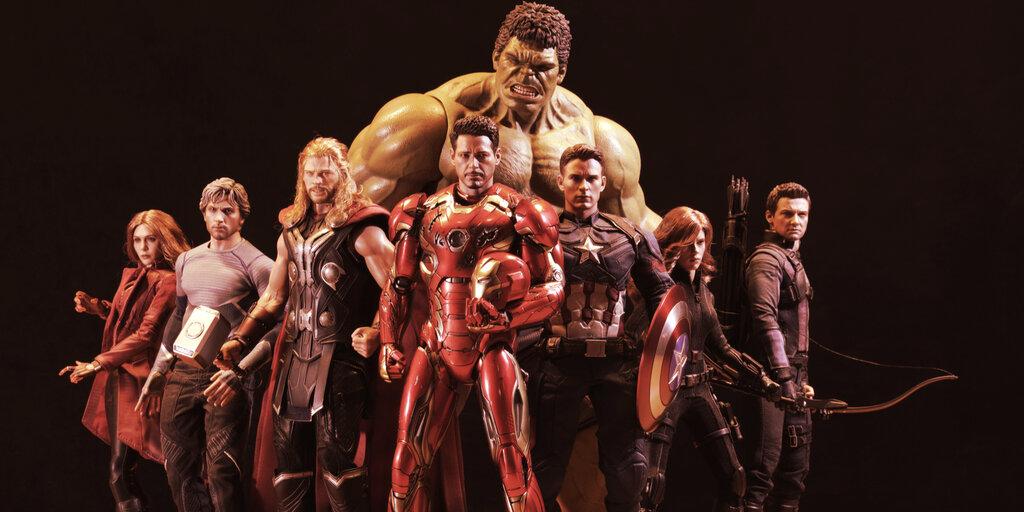 Buy Marvel, Star Wars NFTs—and Watch the Original Artwork Burn