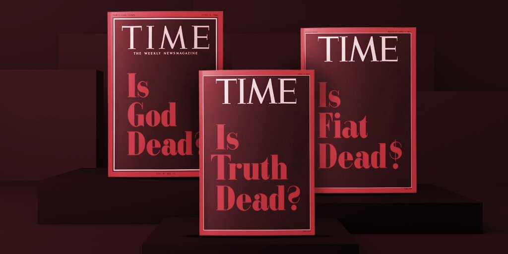 TIME Magazine Sells 'Is Fiat Dead?' NFT Cover for $130,000