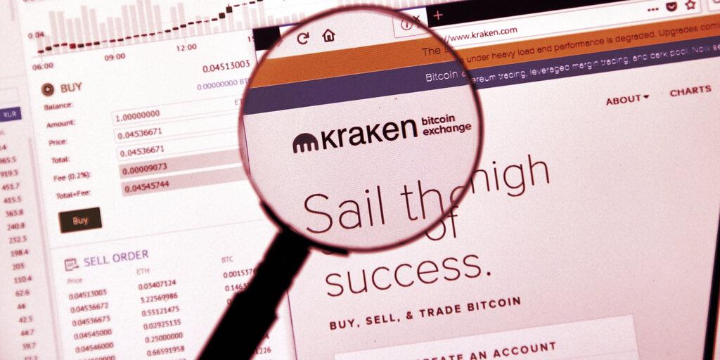 Kraken Eyes 2022 for Direct Listing: Report