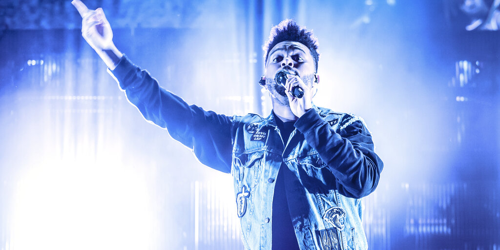 The Weeknd Clears Schedule for an NFT Mic Drop - Decrypt