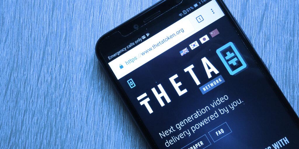 Theta Token Rises 17,000% in a Year, Cracks Top 10 Coins