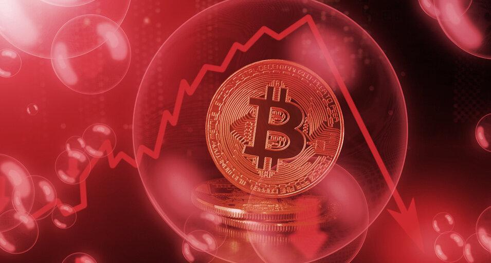 Crypto Stocks Nosedive as Bitcoin Crashes