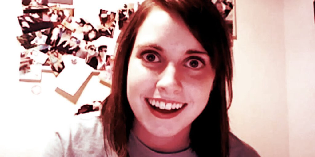 Overly Attached Girlfriend NFT Sells For $411,000 - Decrypt