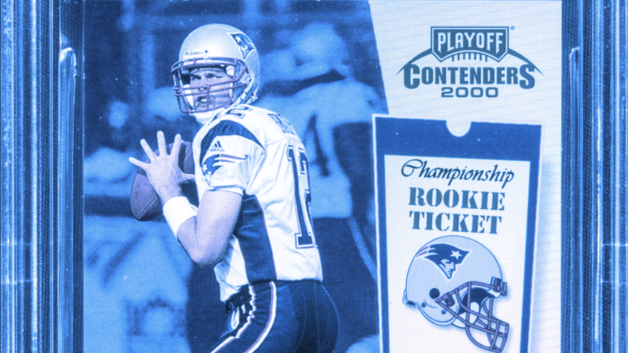 Tom Brady Rookie Card Sells For $1.7 Million Worth of Litecoin