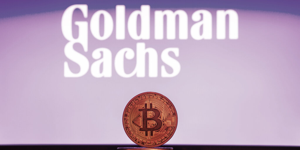Goldman Sachs: Bitcoin's Energy Problem Undermines Idea Of Digital Gold
