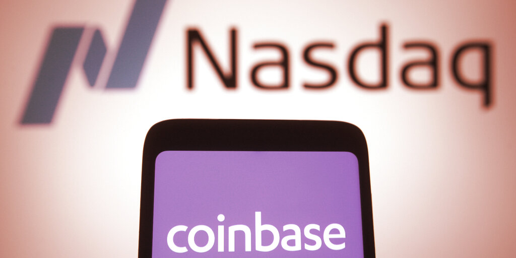 Coinbase Stock Closes 32% Down From High as Bitcoin Pulls Back