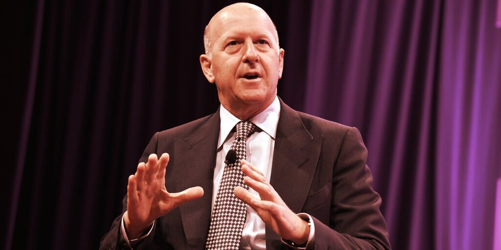 Goldman Sachs CEO: 'Big Evolution' Is Coming to Bitcoin Regulation