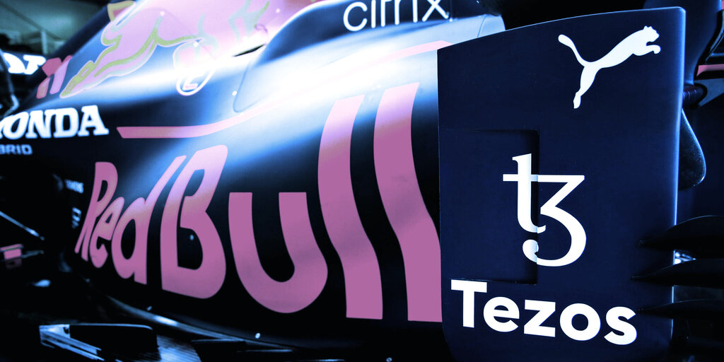 Red Bull's F1 Racing Team Taps Tezos for New NFT Offering