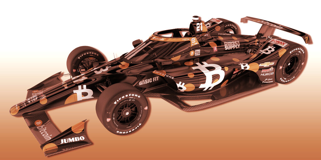 IndyCar 500 Racer to Drive in Bitcoin Livery