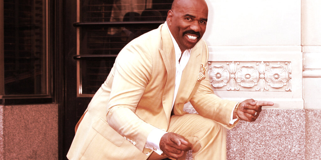 Comedian Steve Harvey Selling NFT for Charity, Holds Bitcoin and Ethereum