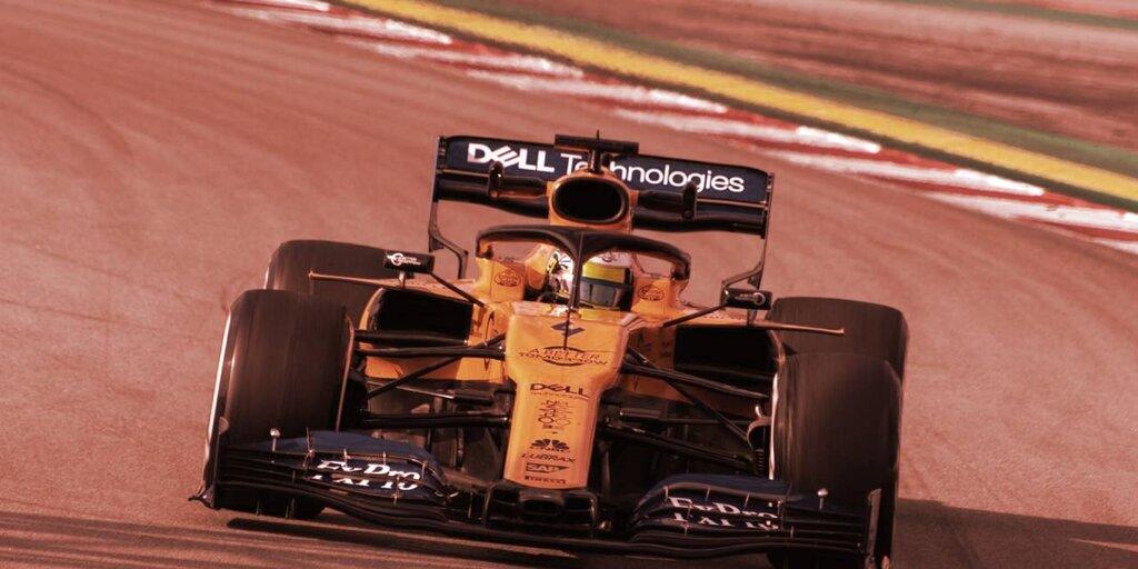 McLaren Racing Teams Up With Tezos For Formula 1 NFTs