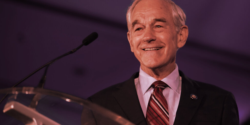 Ron Paul: Bitcoin Must Be Taken Seriously in the Age of 'Free Money'