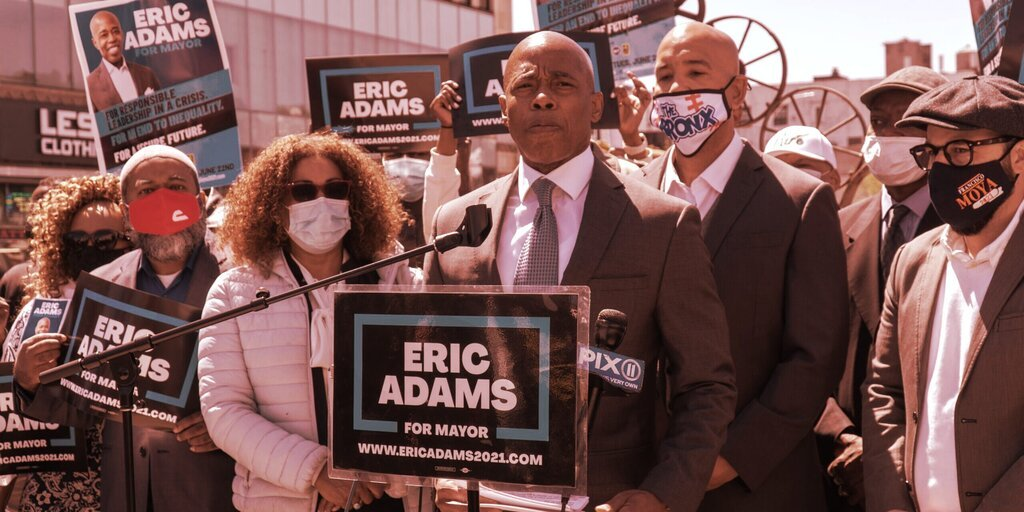 Will New York Get a Bitcoin Mayor? Front Runner Eric Adams Woos Bitcoiners