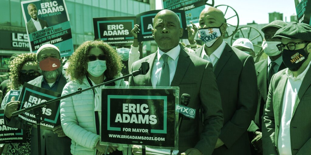 'Bitcoin Mayor' Candidate Eric Adams Wins New York's Democratic Primary