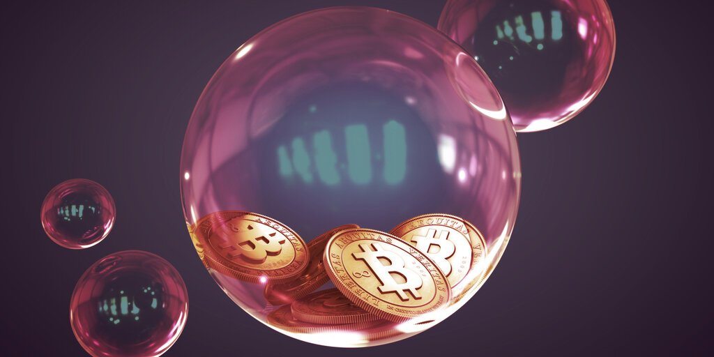 UBS: Regulatory Crackdowns Could Pop 'Bubble-like' Crypto Markets