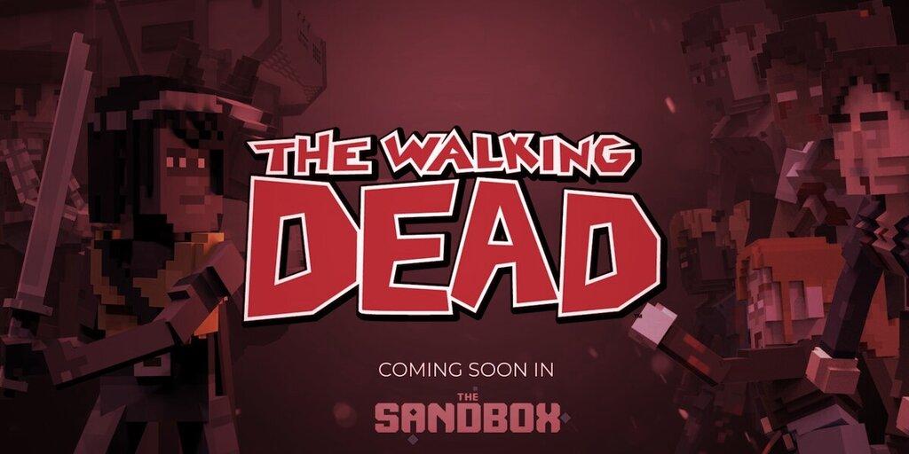 Ethereum-Based Metaverse The Sandbox Enlists 'The Walking Dead'