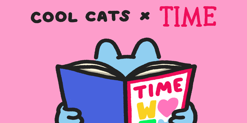 TIME Magazine and Cool Cats to Give Away NFTs for Great Memes