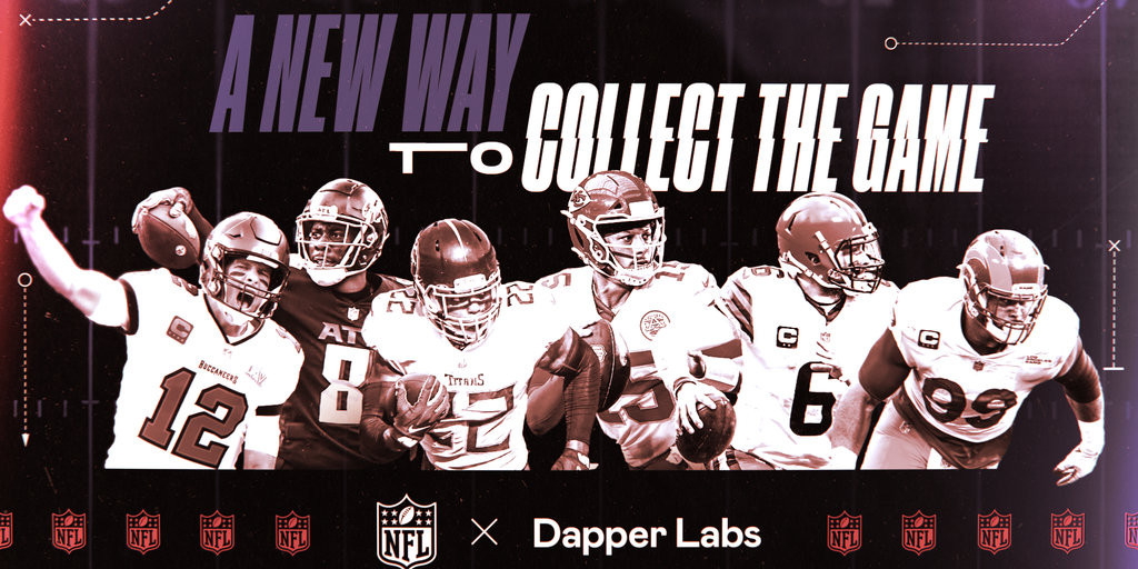 Non-Fungible Token (NFT) Collection - NFL NFTs Will Be 'Very Different' Than NBA Top Shot, Says Dapper Labs