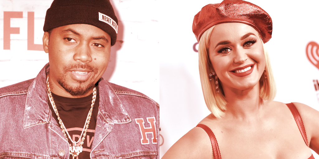 Katy Perry, Nas, Jason Derulo Invest in Crypto Music Platform Audius