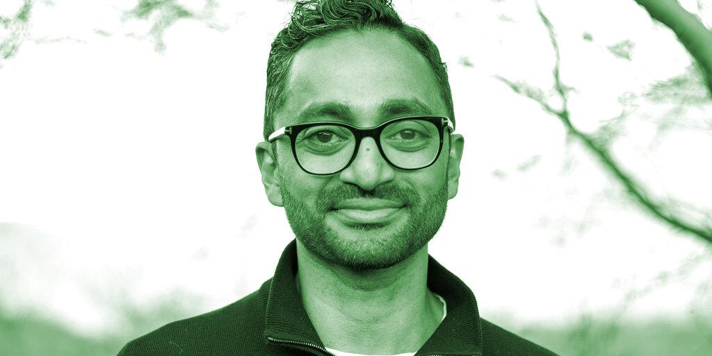 Billionaire Investor Chamath Palihapitiya: 'Bitcoin Has Effectively Replaced Gold'