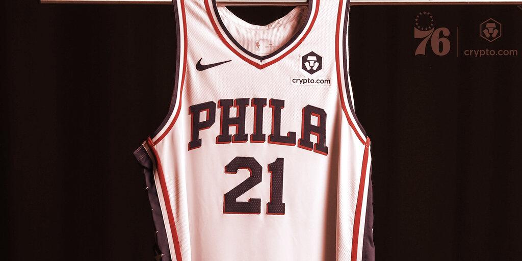 NBA's Philadelphia 76ers Score Crypto.com as Jersey Sponsor