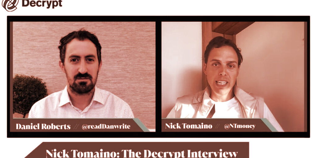 Non-Fungible Token (NFT) Collection - Early NFT Investor Nick Tomaino: 'Belief Equals Value' in Crypto