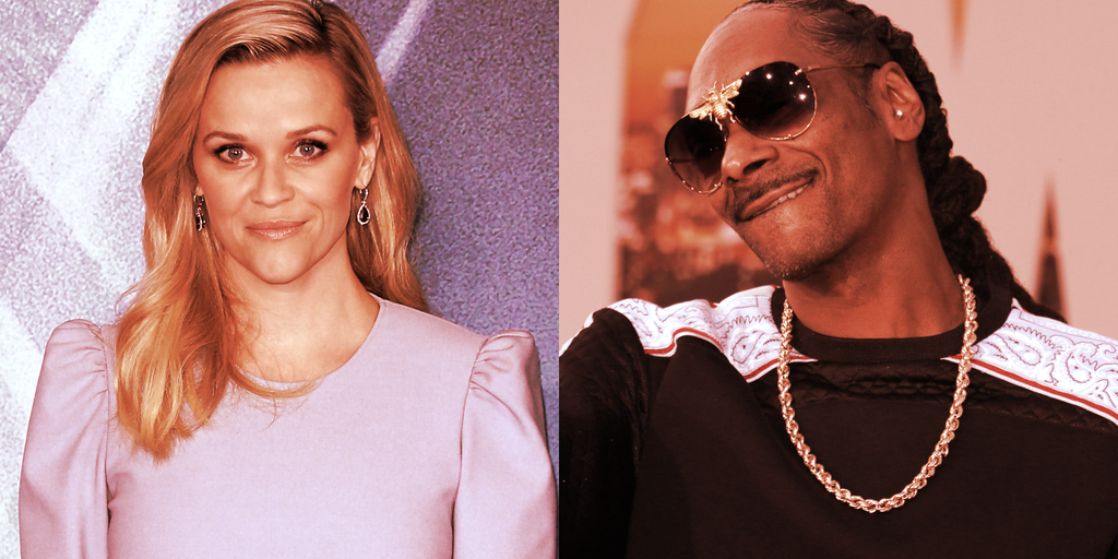 Non-Fungible Token (NFT) Collection - Reese Witherspoon Gets Into Ethereum NFTs, Snoop Dogg Gives Advice