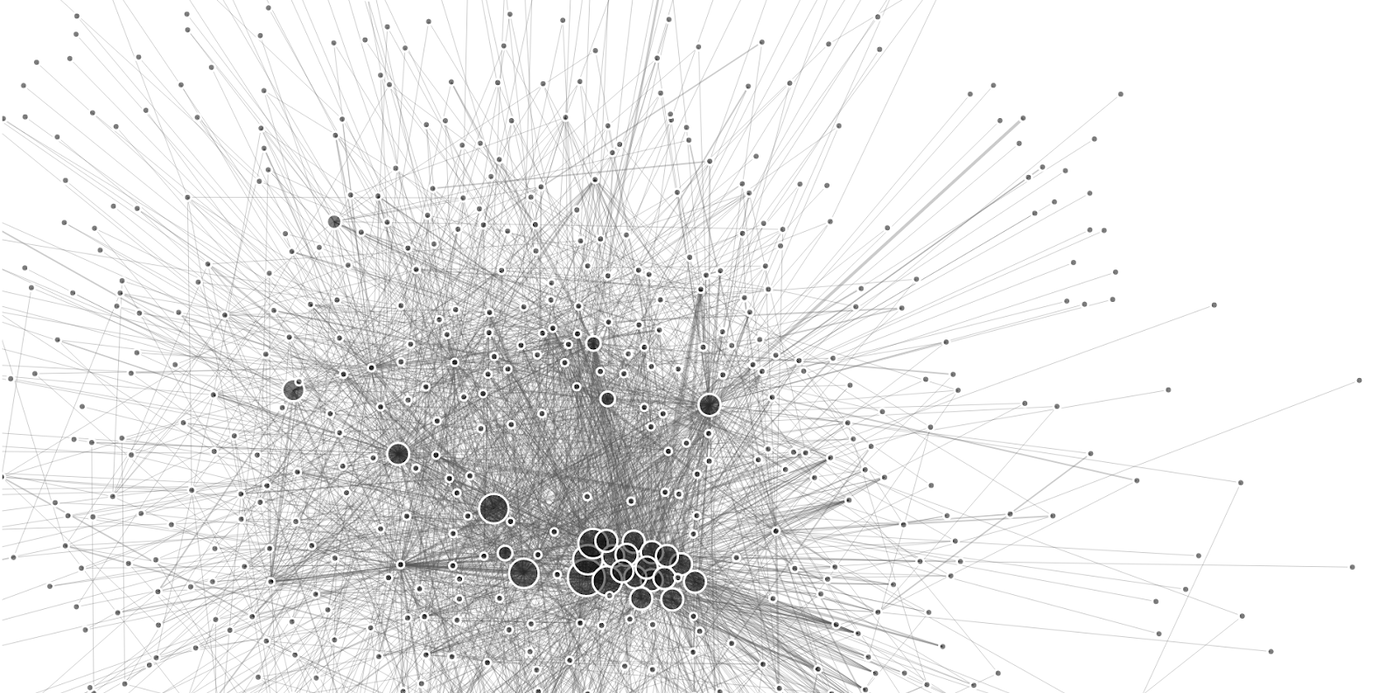 A view of the Bitcoin lightning Network