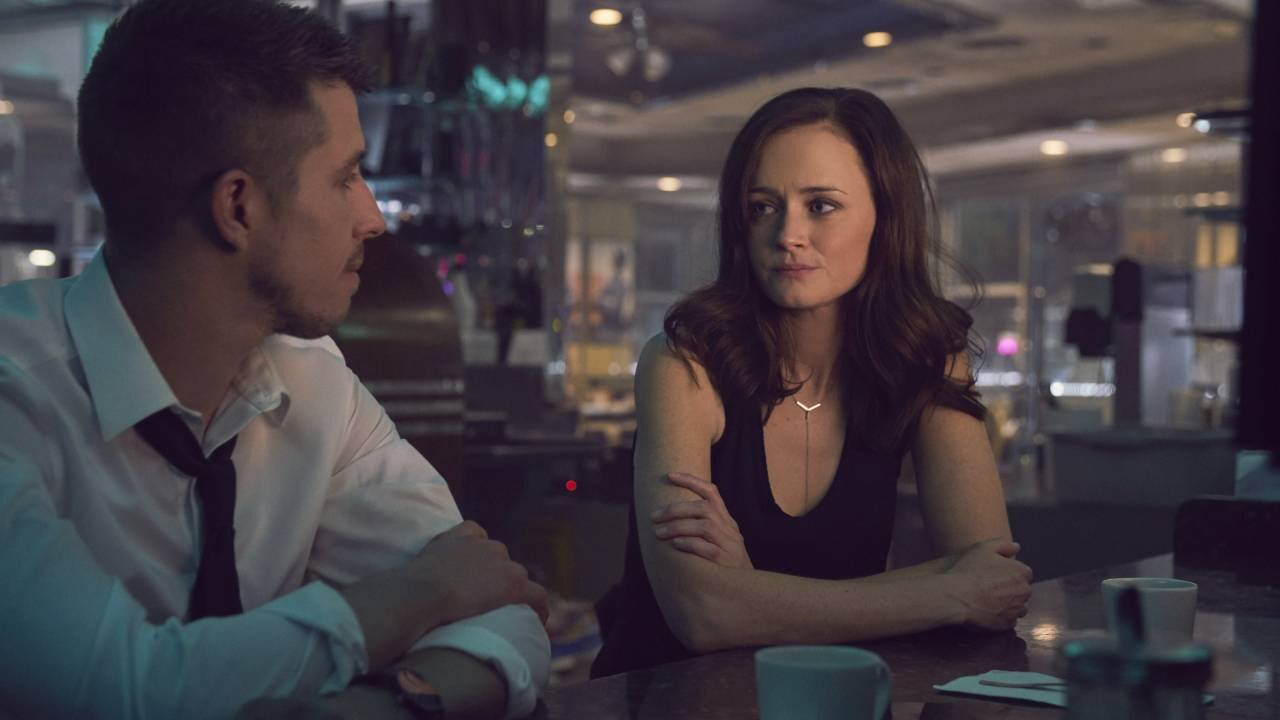 Beau Knapp and Alexis Bledel in Crypto (2019)