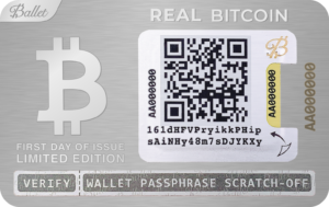 Bobby Lee metal crypto wallet