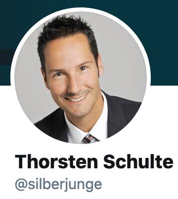 Thursten Schulte's handle is silberjunge