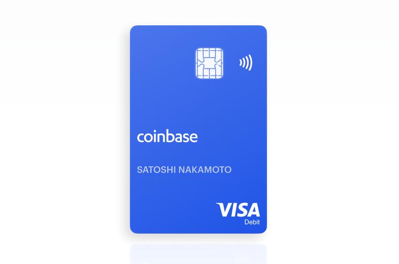 Coinbase's crypto debit card