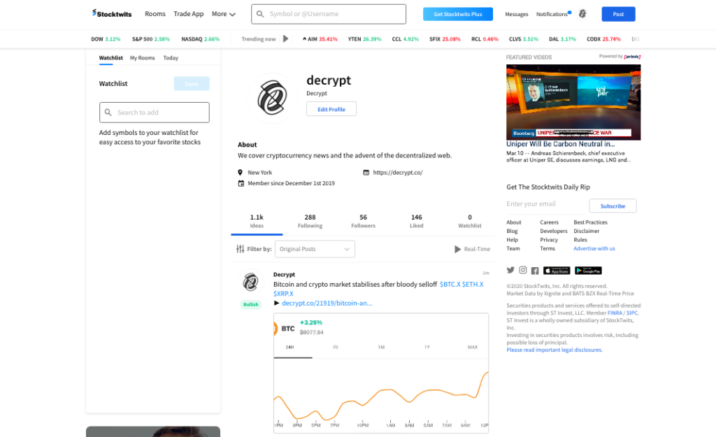 Stocktwits-bitcoin-ethereum-eos