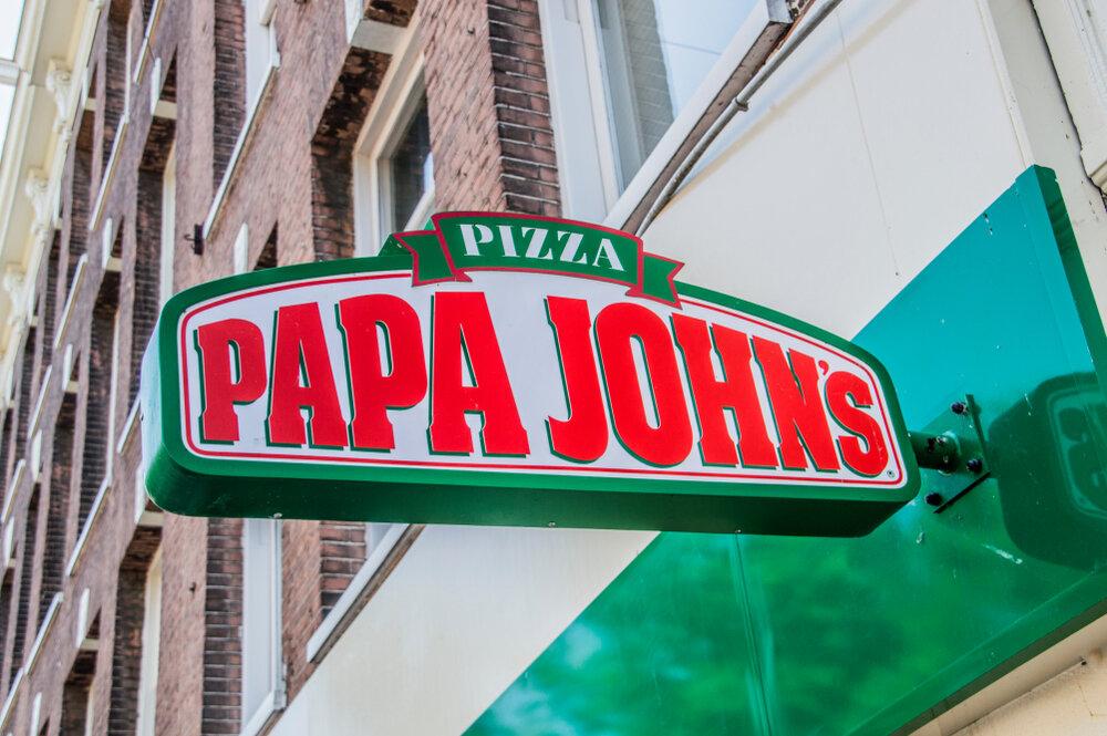 Buying pizza at Papa Johns for Bitcoin