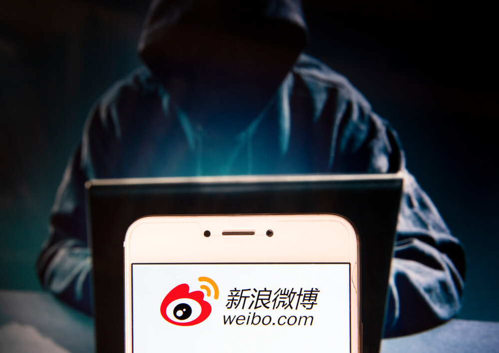 Some 500 million users lost their data to Weibo hackers last week.
