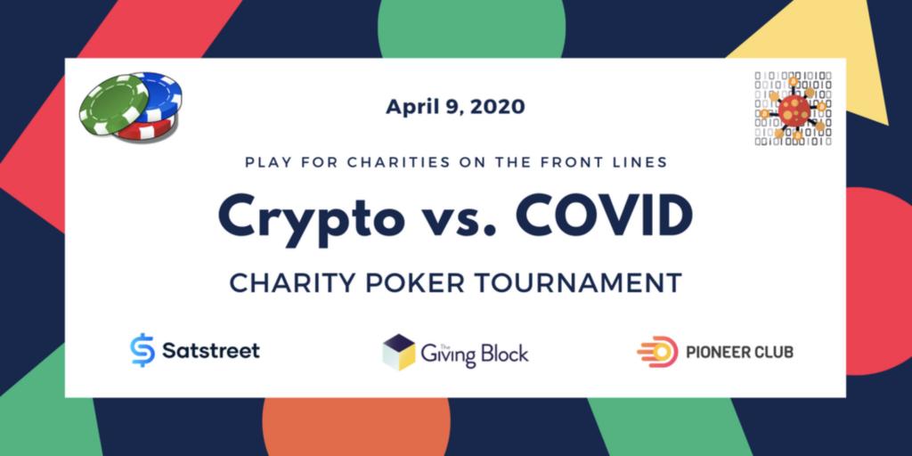 banner for poker crypto poker tournament