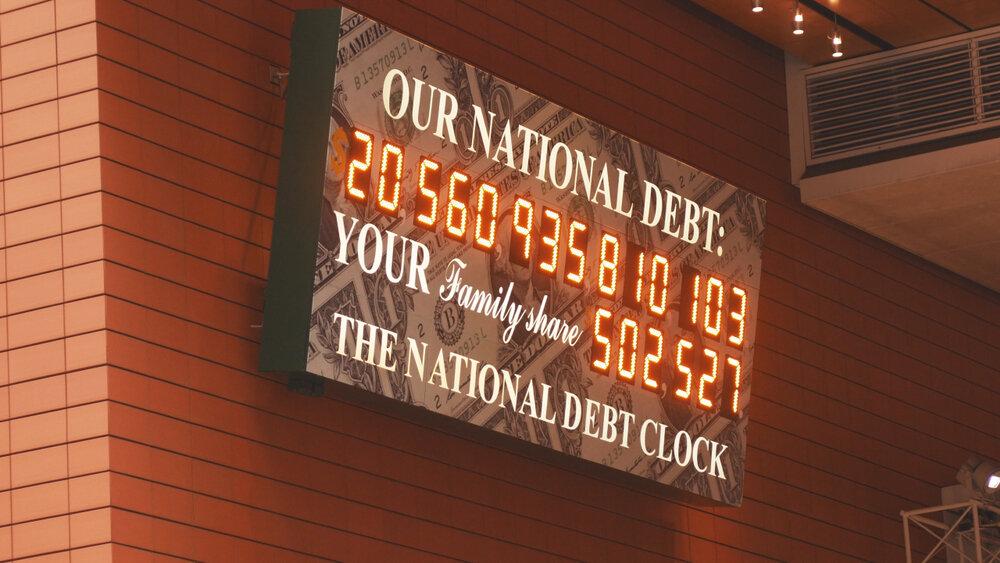 US national debt keeps growing