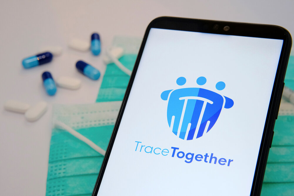 Tracing app protects data security