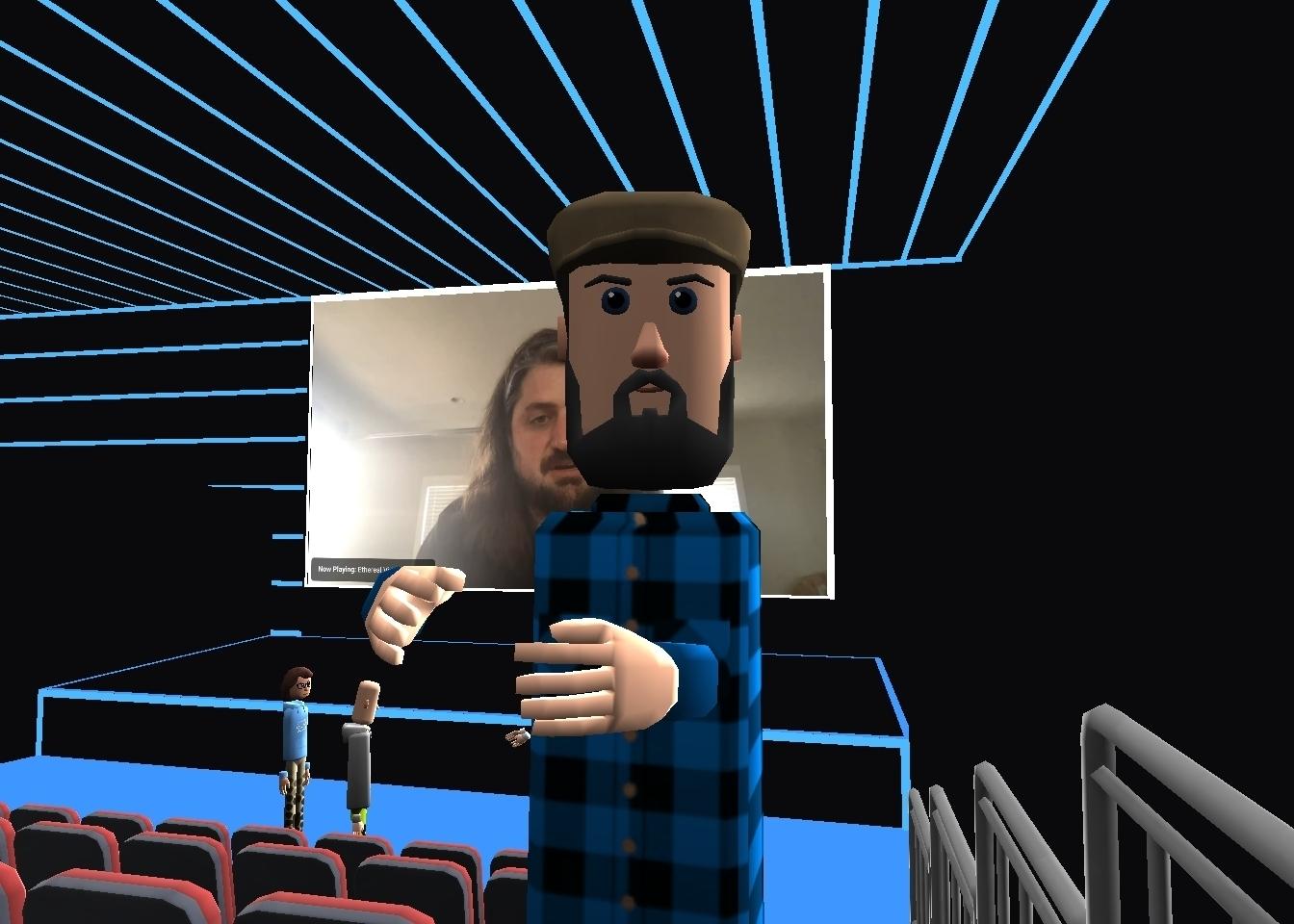AltSpace VR selfie of Ethereal Virtual Summit