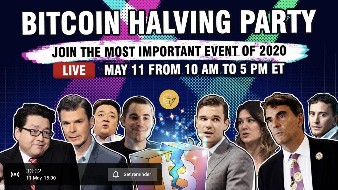 cointelegraph halving party