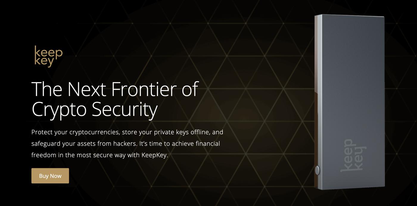 KeepKey is a Bitcoin wallet