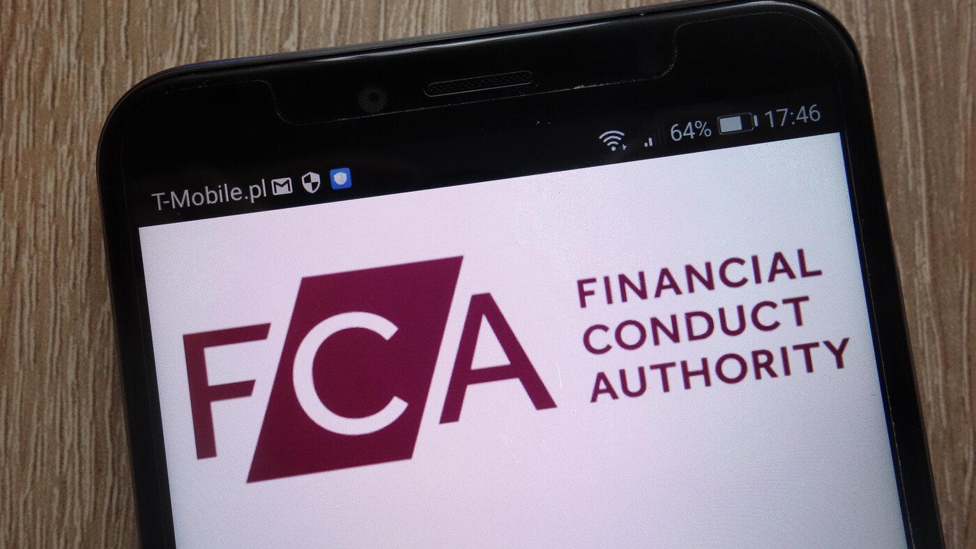 Image of FCA logo on phone