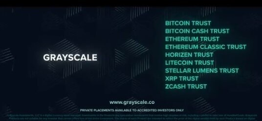 Grayscale's national TV ad goes out but no mention of Bitcoin