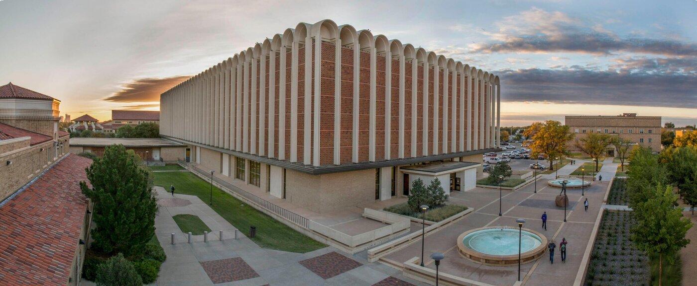 Texas Tech University library