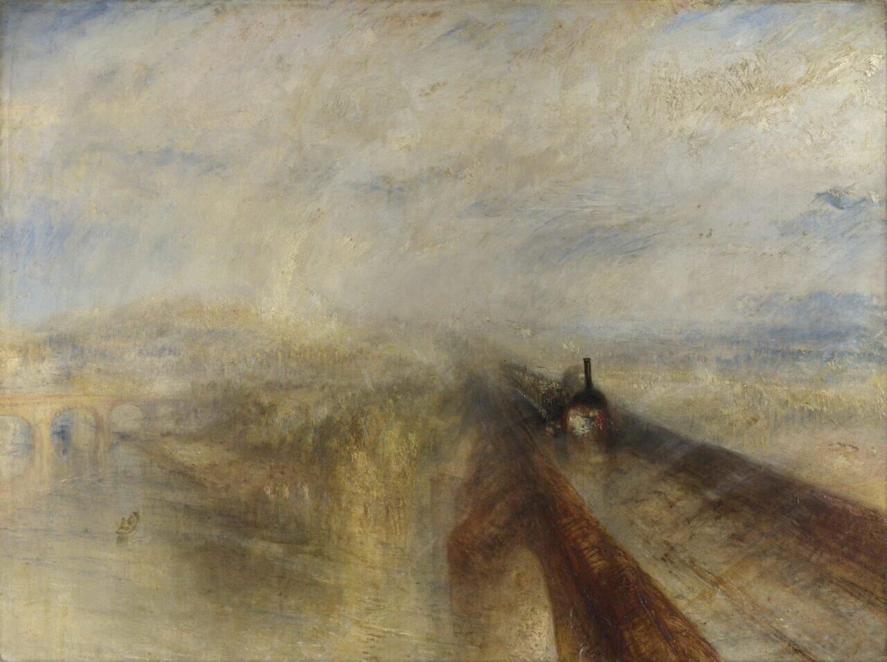 J.M.W. Turner's Rain, Steam and Speed width=