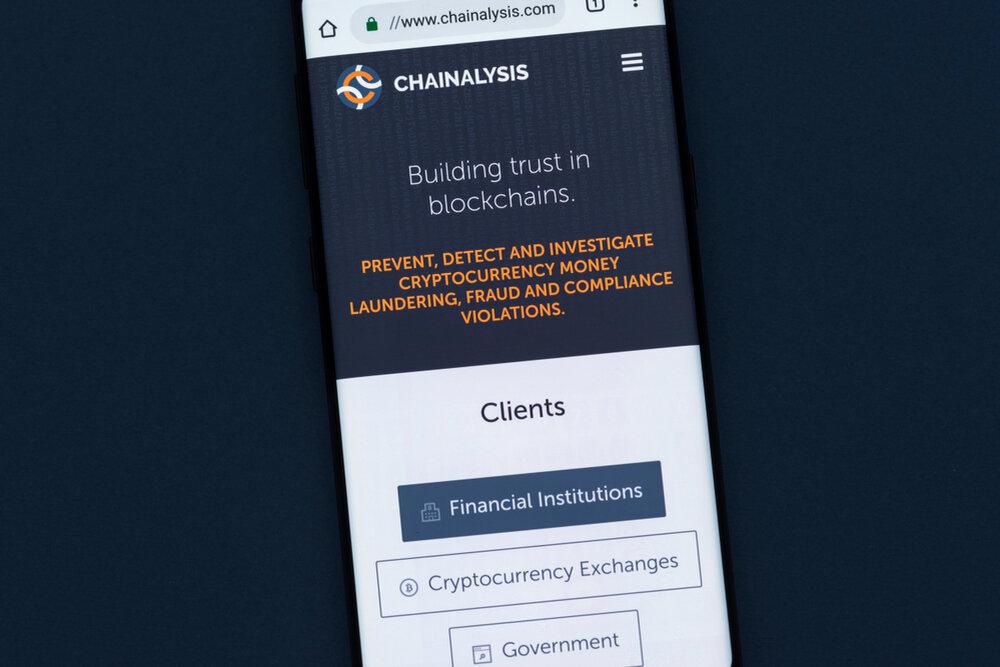 Chainalysis analyses blockchain data