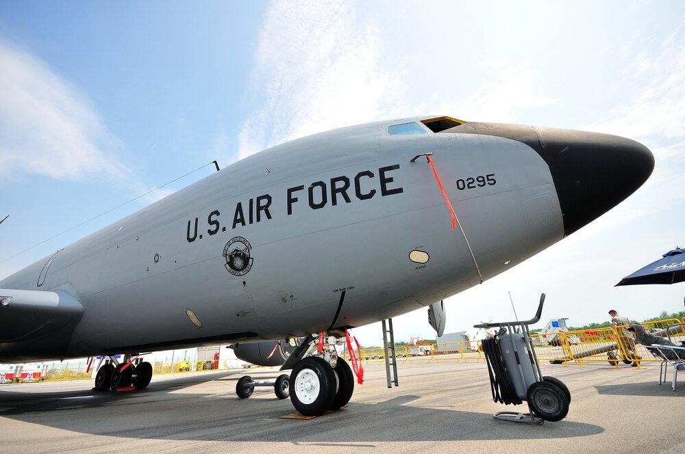 US Air Force using blockchain data
