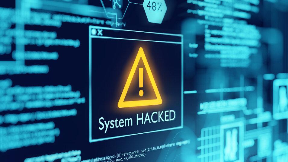 Hacking notification image