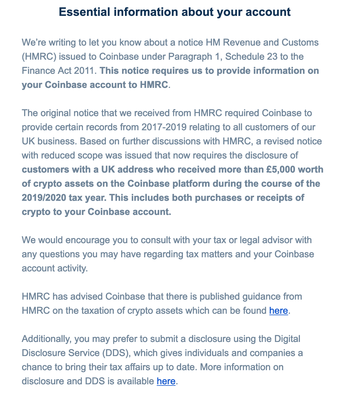 Coinbase to hand over tax info